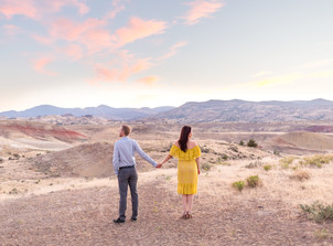 Painted Hills Couples Session {Natalie and Josh}