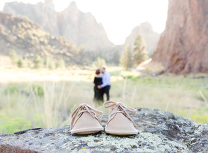 Smith Rock Maternity Session {Anna & Austin}