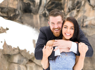 Snowy Bend, OR Engagement Session {Sarah & John}