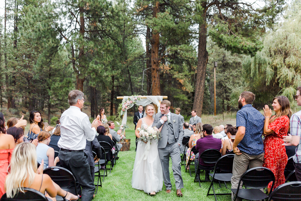 Aspen Hall Wedding in Shevlin Park, Bend Oregon