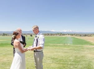 Mike & Jessika's Central Oregon Wedding