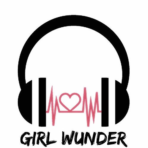 GIRL WUNDER LOGO STICKER
