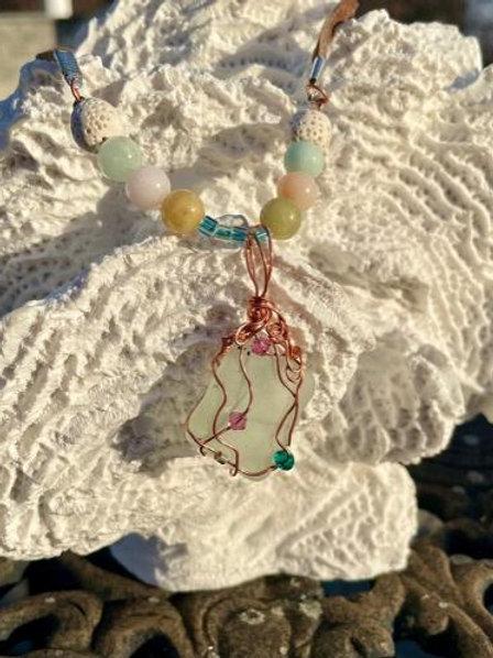 Safe Seas Aromatherapy necklace