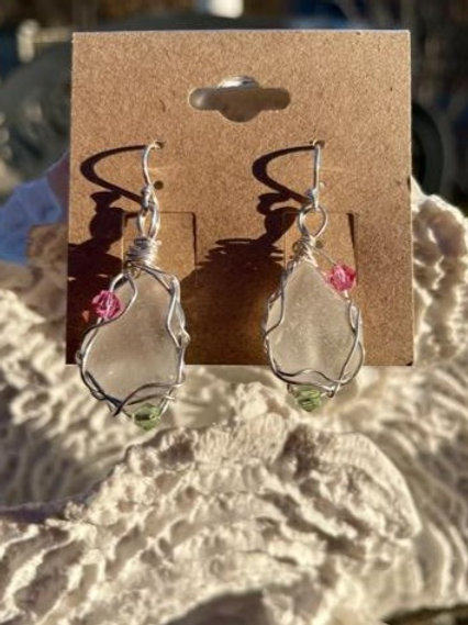 Sea Spray earrings