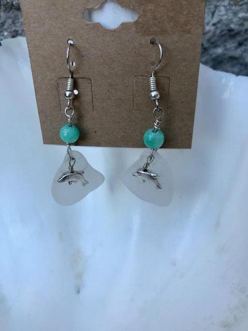 Delightful Dolphins earrings