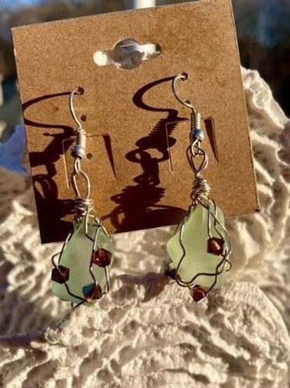 Aquamarine Dreams earrings