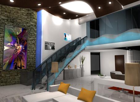 A beautiful loft home designed by Mumbai designer