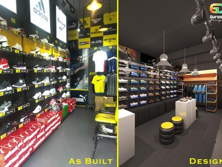 Brand Wagon Showroom Design in Nagpur, India