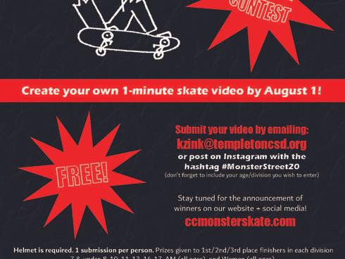 """2020 Monster Skate Series announces """"Monster Street"""" virtual contest"""