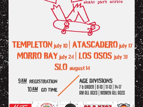Monster Skate is back! Series kicks off 7/10 in Templeton