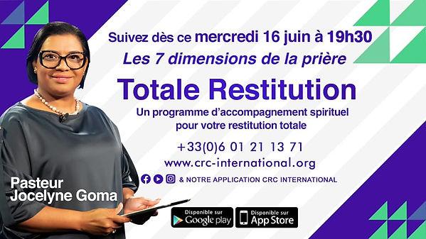 Totale Restutition - emission 4