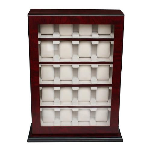 HAND MADE WATCH CABINET LUXURY CASE STORAGE DISPLAY BOX JEWELLERY WATCHES