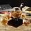 Thumbnail: Whiskey Decanter Globe Bottle and 4 Glasses Set