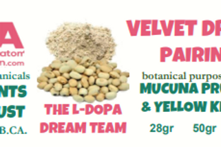 VELVET DREAM BLEND~Mucuna Pruriens & YellowVietnam Pairing