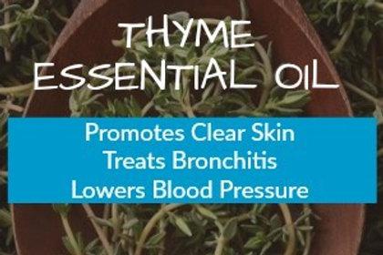 Thyme Essential Oil (Thymus vulgaris / Thymus zygis) •100% Pure & Natural