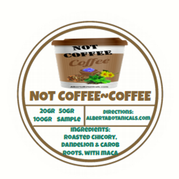 NOT COFFEE ~ COFFEE ☕ ~Energizing Coffee Substitute