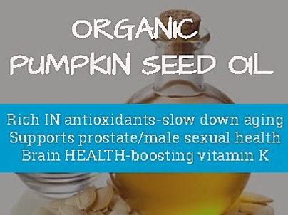 Pumpkin Seed Oil - Organic