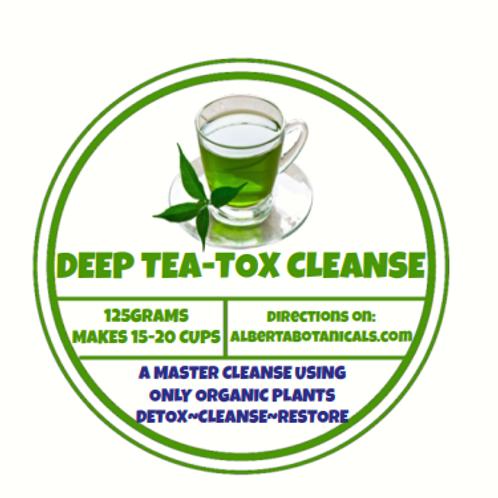 DEEP TEA-TOX MASTER CLEANSE ~ LOOSE⚡DETOX BLEND