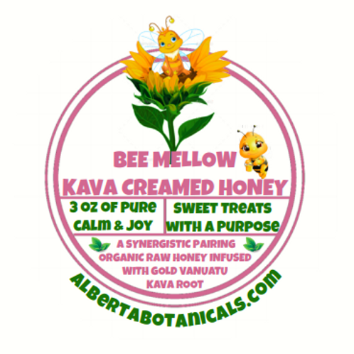BeeMellow~ Kava Creamed Honey