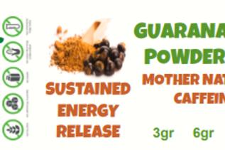 GUARANA SEED POWDER~ 30X Extract