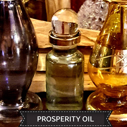 PROSPERITY OIL~🍾Egyptian Glass Bottle
