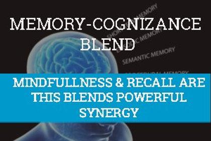 MEMORIZATION-COGNIZANCE  Essential Oil Blend