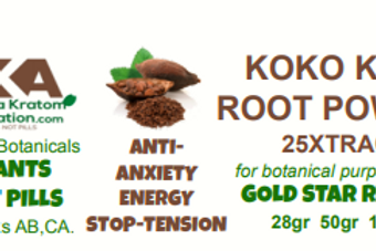 KOKO KAVA~Powder 25Xtract