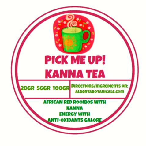 PICK-ME-UP~ Kanna Organic Loose Leaf Tea