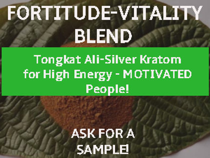 FORTITUDE- VITALITY BLEND-50grams-Sale price for now! TRY before price goes up!