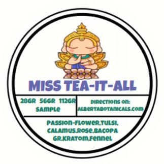 MISS TEA IT ALL ~ Loose Tea Blend
