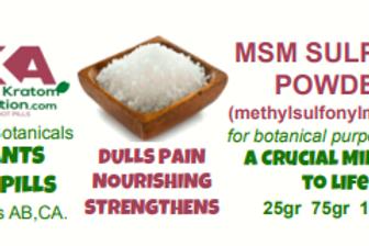 MSM Powder Sulphur (Methylsulfonylmethane)