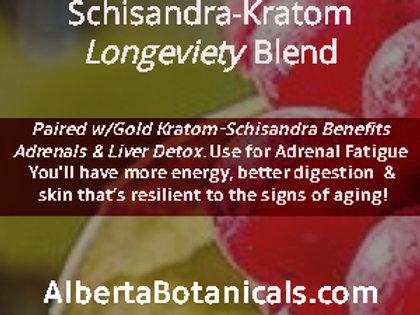 SHISANDRA~GOLD KRATOM LONGEVITY BLEND