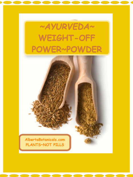 AYURVEDA WEIGHT-OFF POWER POWDER