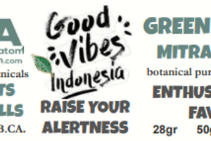 GOOD VIBES GREEN INDO~MitraSpec