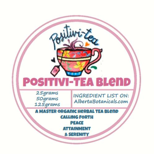 POSITIVI-TEA 🌼Organic Herbal Tea Blend🌺