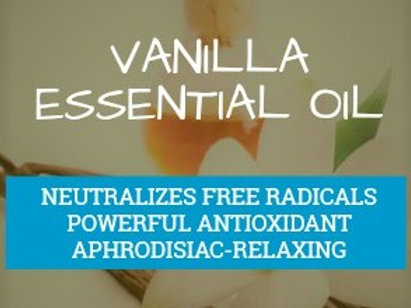 Vanilla Essential Oil (Vanilla planifolia) 100% Pure and Natural