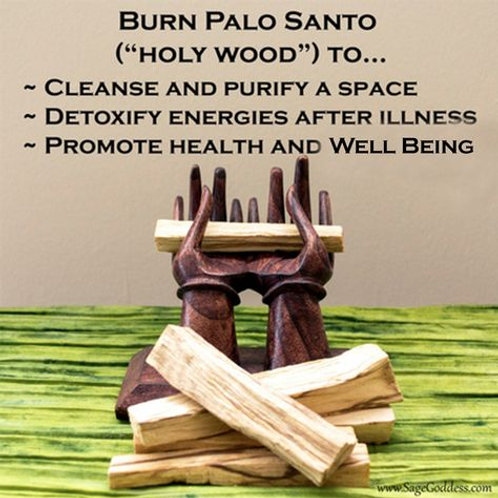PALO SANTO (HOLY WOOD)~Smudging or Incense🙏