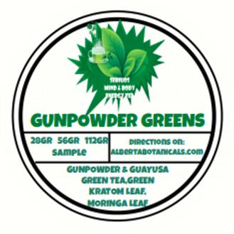 GUN POWDER GREENS - LOOSE TEA
