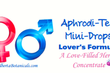 AphrodiTea~  Lovers Liquid Tea Mini Drops