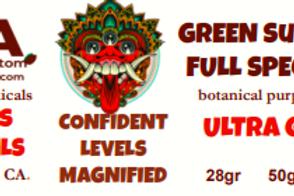 GREEN SUMATRA MitraSpec~ ULTRA FINE GRIND