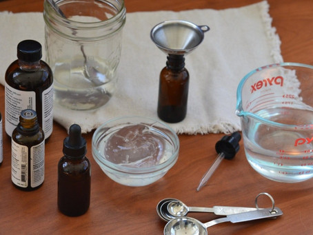 2 DIY Hand Sanitizer Recipes....