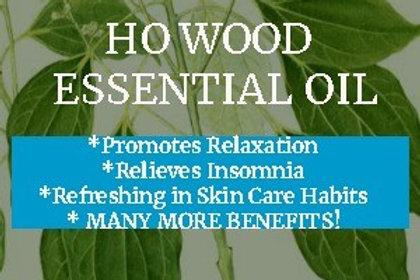 Ho Wood Essential Oil (Cinnamomum camphora) •100% Pure & Natural