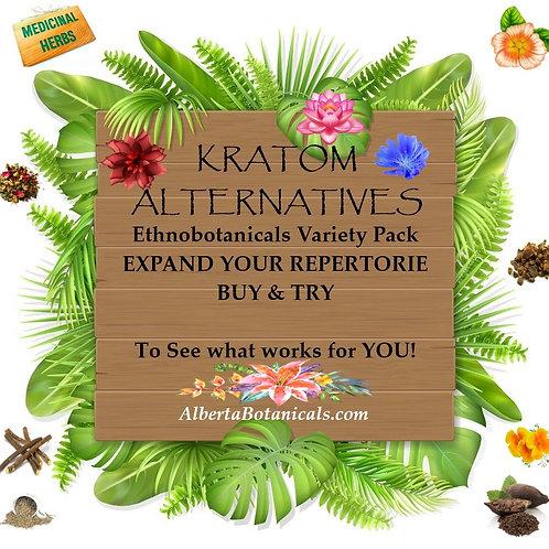 Kratom Alternatives~ EthnoBotanical Variety Stacks