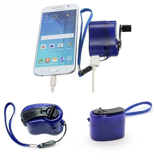 Universal Portable Power Dynamo Hand Crank-Cell Phone