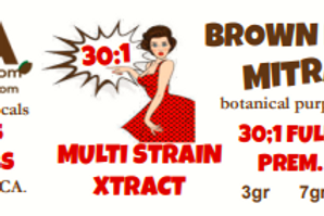 Brown Betty MitraX~ 30:1