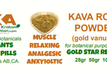 KAVA KAVA GOLD ROOT~Xtract Powder