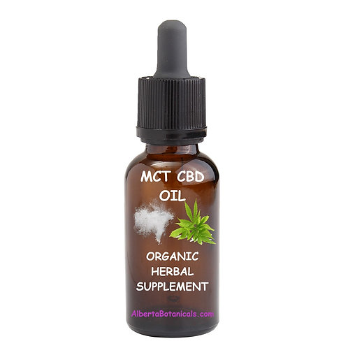 CBD Oil with MCT Oil (organic, NO THC)