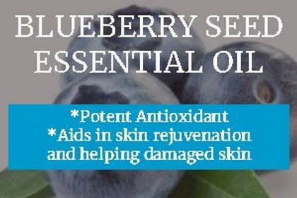 Blueberry Seed Essential Oil (Vaccinium myrtillus) •100% Pure & Natural