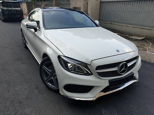 MERCEDES BENZ C200 AMG COUPE