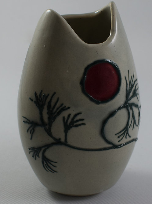 Japanese Tree Of Hope Small Vase